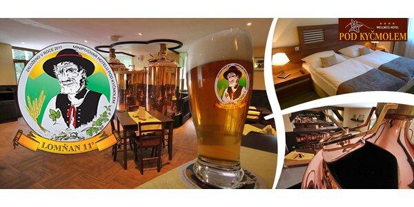 Výběr z pivních zážitků v pivovaru Lomňan