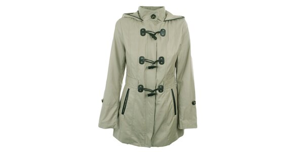 Dámský světlý krátký kabátek Halifax