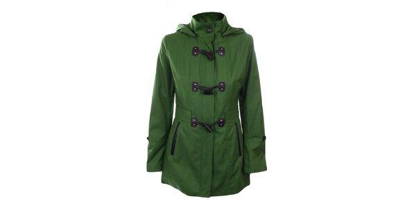 Dámský zelený krátký kabátek Halifax