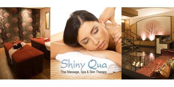 490 Kč za 60minutovou thajskou masáž v úžasném Shiny Qua v hodnotě