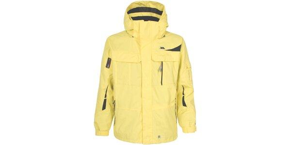 Pánská žlutá lyžařská bunda Trespass