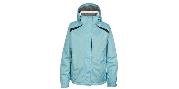 Dámská světle modrá nepromokavá zimní bunda Trespass