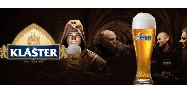 VIP exkurze v Pivovaru Klášter + dárkový karton piva
