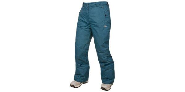 Dámské zeleno-modré lyžařské kalhoty Trespass
