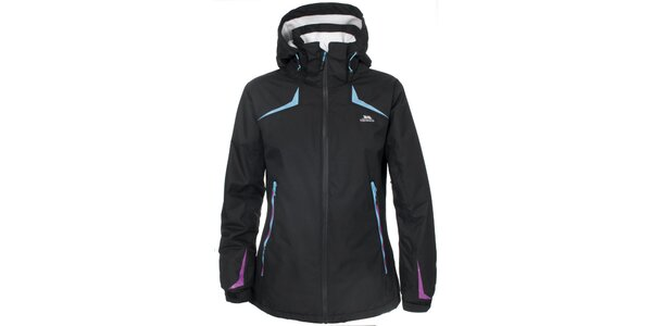 Dámská lyžařská bunda v černé barvě Trespass