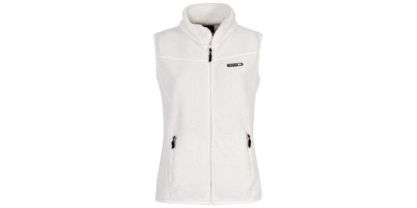 Dámská fleecová vesta v bílé barvě Trespass