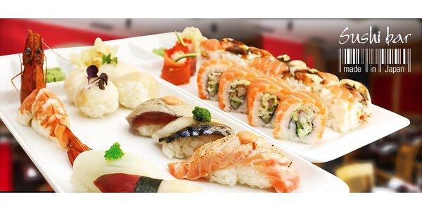 40% sleva na veškerá jídla v sushi baru Made in Japan