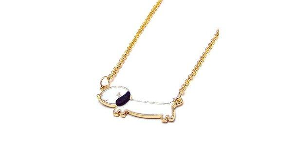 Dámský náhrdelník s pejskem Bubbles