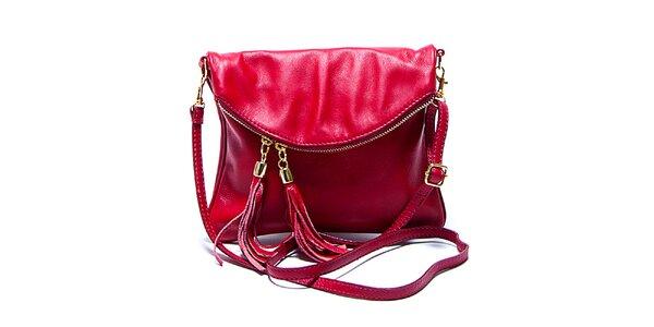 Dámská malá červená kabelka Renata Corsi