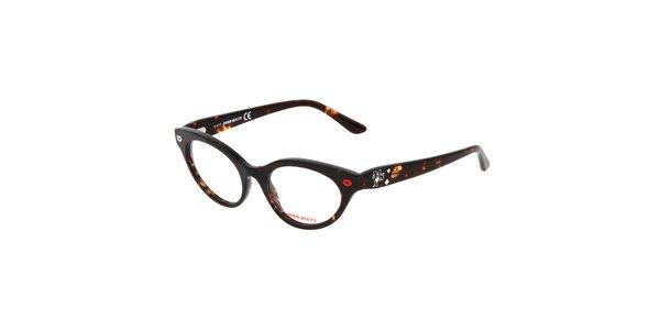 Dámské žíhané retro brýle Miss Sixty