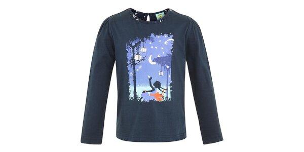Dětské modré tričko s pohádkovým motivem Uttam Boutique
