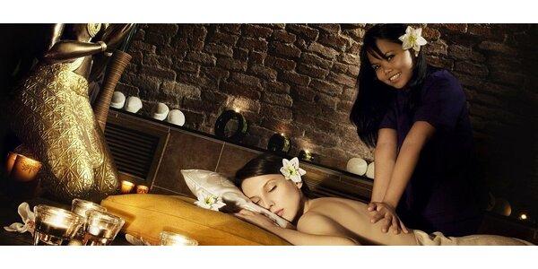 Luxusní 60minutová masáž v Carolline Thai Spa