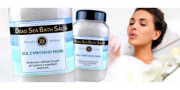 2 kg soli z Mrtvého moře do koupele