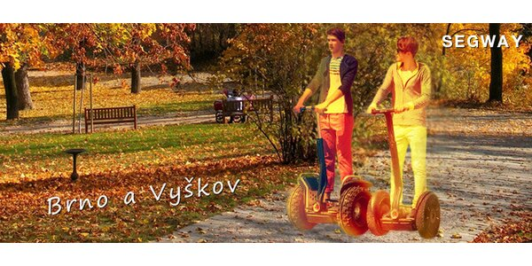 Povozte se na segwayi – v Brně nebo Vyškově