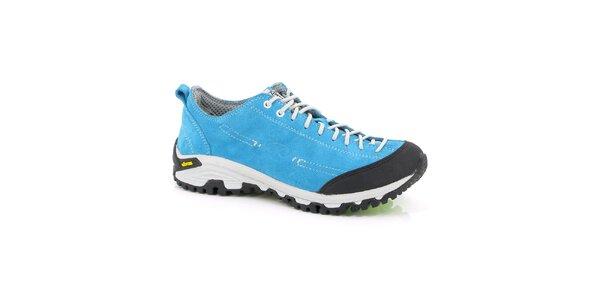 Unisex nízké tyrkysové outdoorové boty Kimberfeel