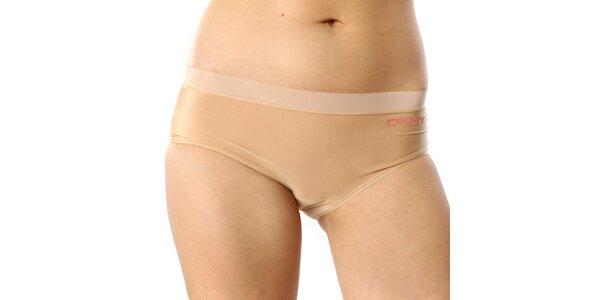 Dámské tělové kalhotky s logem DKNY