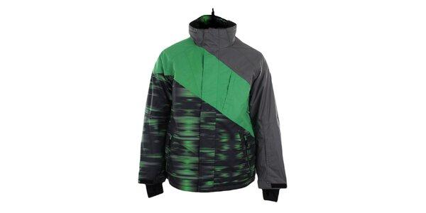 Pánská zeleno-šedá funkční bunda Trimm