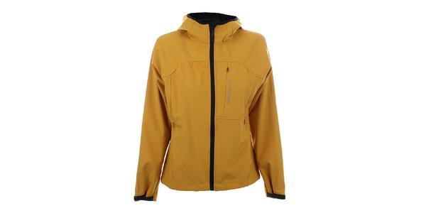 Dámská tmavě žlutá softshellová bunda Trimm