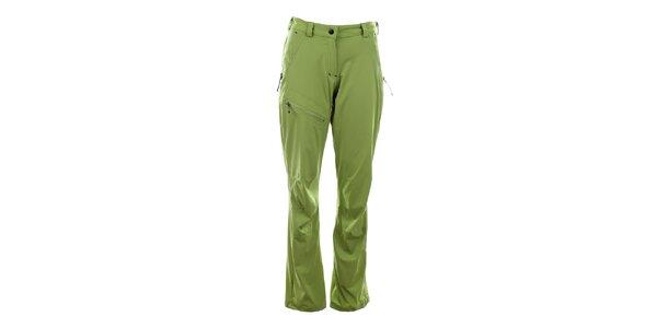 Dámské světle zelené funkční kalhoty Trimm