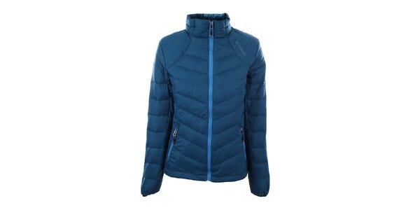 Dámská modrá péřová bunda Trimm