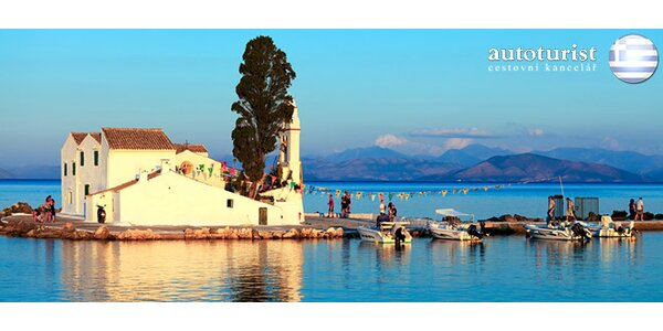 Ultra last minute na ostrov Korfu. Odlet ve čtvrtek 11.9.2014