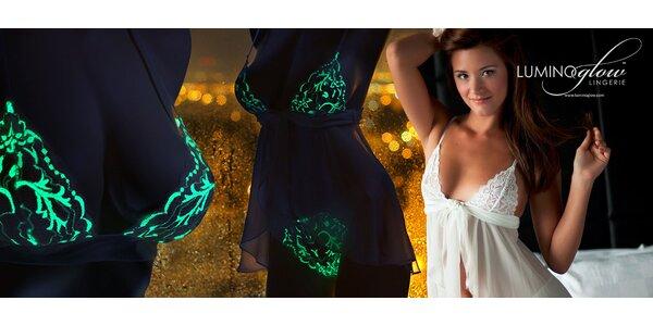 Spodní prádlo, které svítí ve tmě