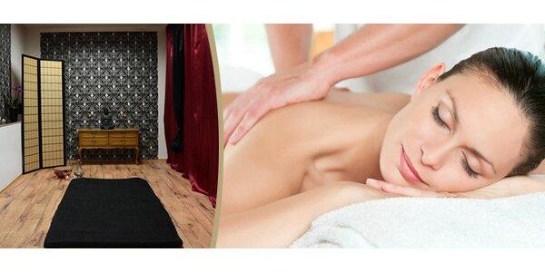 90 minut Tuniská masáž s teplým pěnovým peelingem a s arganovým olejem