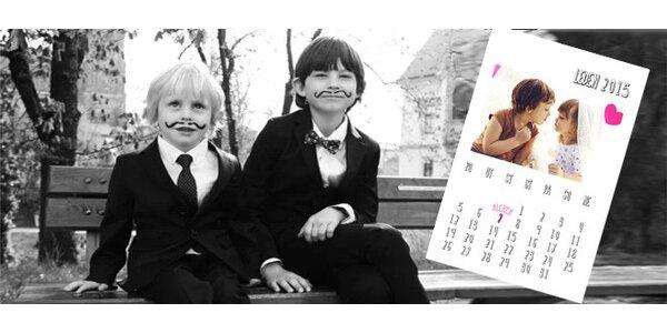 Nafocení foto-kalendáře s rodinnými fotkami vhodného pod vánoční stromeček