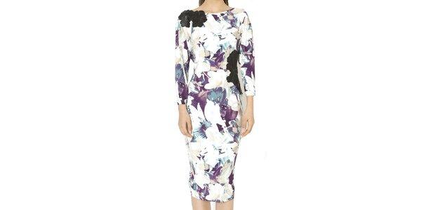 Dámské šaty s květinovým potiskem Santa Barbara