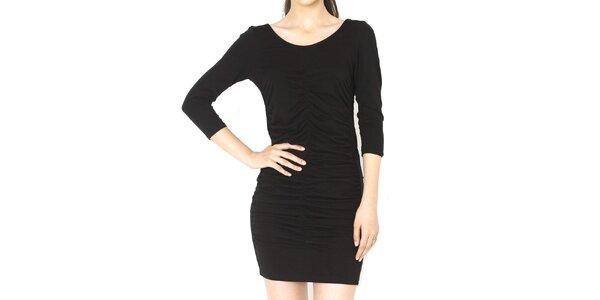 Dámské černé mini šaty Santa Barbara