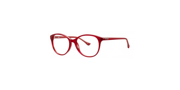 Dámské rudé retro obroučky Kenzo