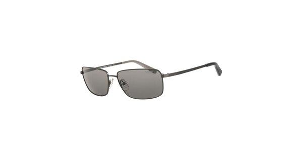 Pánské tmavě šedé sluneční brýle Calvin Klein s polarizovanými skly