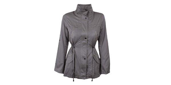Dámský tmavý kabátek se stojáčkem Company&Co