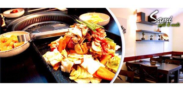 4chodové korejské menu pro dva na Vinohradech