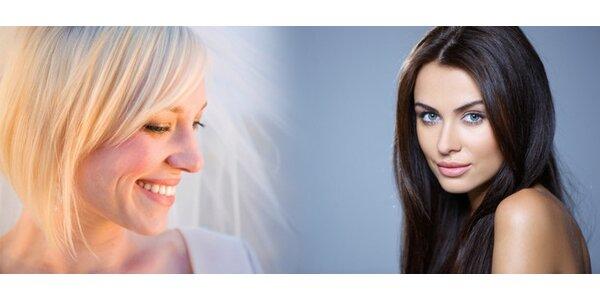 Kompletní střih s masáží hlavy se sérem pro lepší růst vlasů