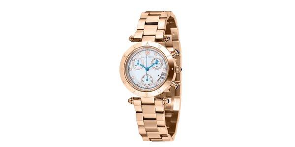 Dámské hodinky zlaté barvy Klaus Kobec