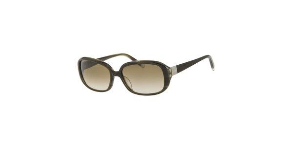 Dámské tmavě zelené sluneční brýle Calvin Klein