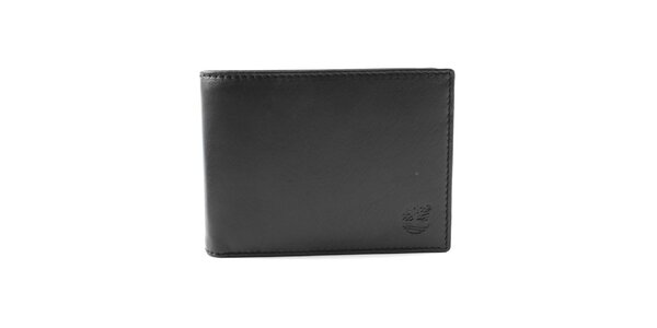 Pánská černá peněženka s logem Timberlan