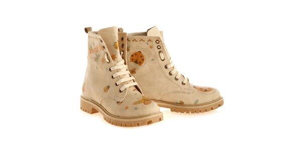 Dámské kotníkové boty s broučky Elite Goby