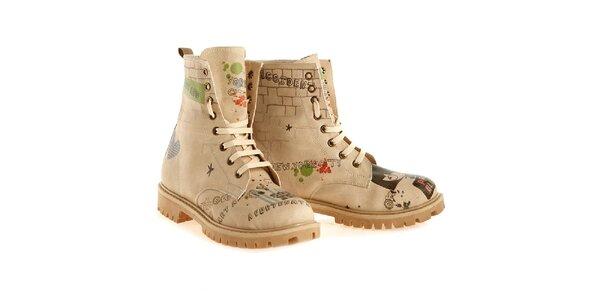 Dámské městské kotníkové boty Elite Goby