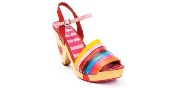 Dámské duhové sandálky Lola Ramona