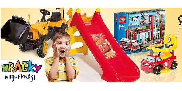 Nákup hraček v hodnotě 500 Kč jen za 250 Kč