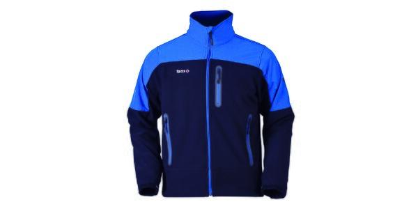 Pánská modrá bunda na zip Izas