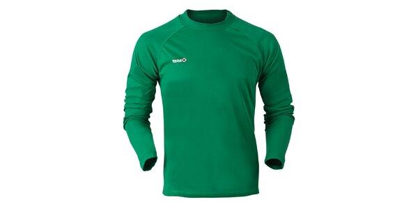 Pánské zelené funkční triko Izas