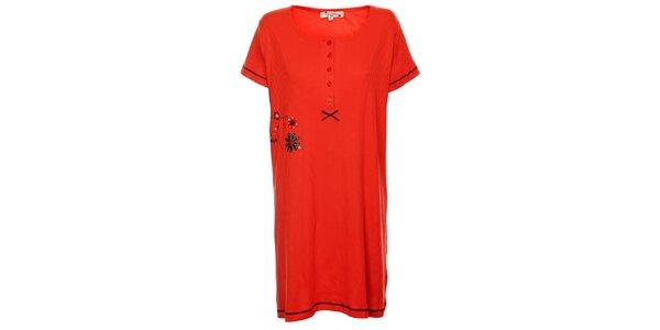 Dámská červená noční košile Isma