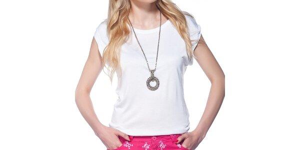 Dámské bílé tričko s krátkým rukávem Jimmy Key