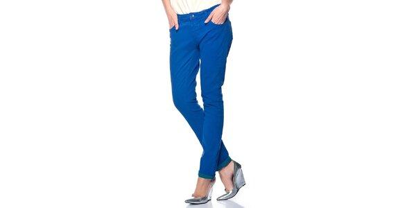 Dámské kobaltově modré kalhoty Jimmy Key