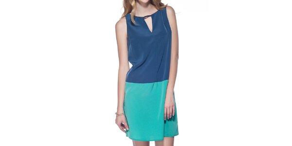 Dámské modro-azurové šaty Jimmy Key