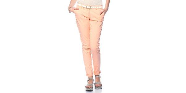 Dámské světle lososové kalhoty Jimmy Key