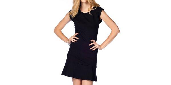 Dámské černé šaty s kanýrkem Jimmy Key
